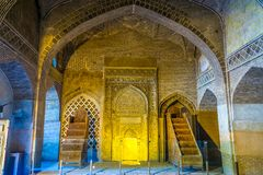 Isfahan Jameh moské 23 royaltyfri foto