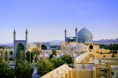 Isfahan mosque stock images