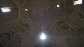 Isfahan Old Mosque ceiling stock video