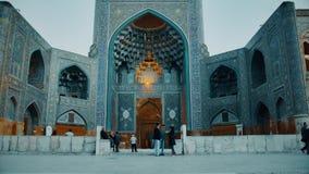 Isfahan schahmoské arkivfilmer