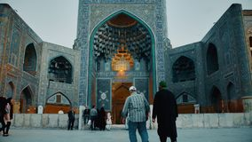 Isfahan Shah Mosque stock video