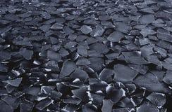 Isflak för Antarktis Weddell havsis Arkivbilder