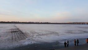 Isflod Royaltyfri Bild