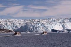 Isglaciär Grönland Arkivbilder