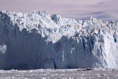 Isglaciär Grönland Arkivfoto