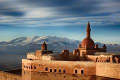 Ishak帕沙宫殿,土耳其 免版税图库摄影