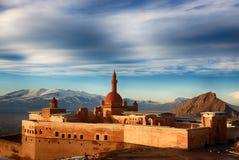 Ishak帕沙宫殿,土耳其 免版税库存照片
