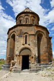 St Gregory of the Abughamrents, in Ani, Turkey. The Church of St Gregory of the Abughamrents, in Ani, Turkey stock photo