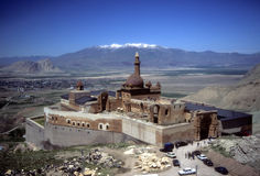 Ishak Pasha Pałac, blisko granicy Iran Zdjęcia Stock