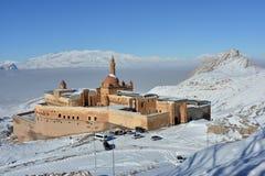 Ishak Pasha pałac - ranku widok Zdjęcie Stock