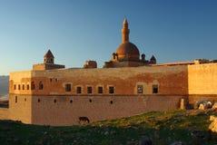 Ishak pasha palace. Kurdish ancient palace built in 1685 Stock Image