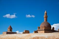 Ishak Pasha Palace 2. Ishak Pasha Palace at the turkey Royalty Free Stock Photo