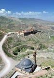 Ishak Pasha palace. Near Dogubayazit in eastern Turkey Stock Images