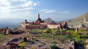 Ishak Pasha palace. Near Dogubayazit in eastern Turkey Royalty Free Stock Images