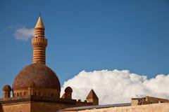 Ishak Pasha Palace. At agri turkey Stock Photo