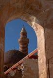 Ishak Pasha Palace. At agri turkey Stock Image
