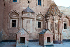 Ishak Pasha Palace 3. Ishak Pasha Palace at the turkey Royalty Free Stock Photography