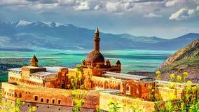 Ishak Pasha Palace lizenzfreie stockfotografie