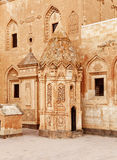 Ishak Pasha Palace, Detail - Turkey Stock Photo