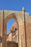 Ishak Pasha Palace details through window Stock Photos