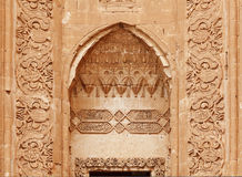 Ishak Pasha Palace detalj - Turkiet Arkivbilder