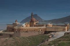Ishak Pasha Palace, die Türkei Lizenzfreies Stockbild