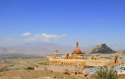 ISHAK PASHA PALACE royalty free stock photo