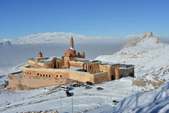 Ishak Pasha Palace - morning view Stock Photo