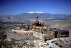 Ishak Pashaslott, nära kanten av Iran Arkivfoton