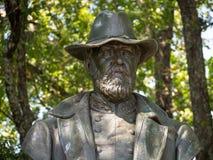 Isham Warren Garrott Civil War Monument Stock Photography