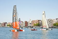 Ishares-cup race in Amsterdam the Netherlands Stock Image