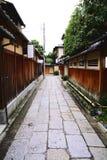 Ishibei-koji (Ishibei gränd) Fotografering för Bildbyråer