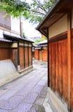 Ishibei-koji (Ishibei-Steeg) royalty-vrije stock afbeeldingen