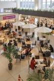 Ishigaki, il Giappone, dicembre, diciassettesimo, 2013, aeroporto di Ishigaki e flighte Immagini Stock