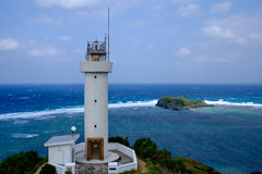 Ishigaki Lighthouse. The Ishigaki Lighthouse in Japan Stock Images