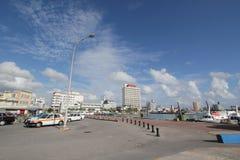 Ishigaki-Straßenansicht in Japan Lizenzfreie Stockfotos