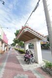 Ishigaki street view in Japan. Japan Ishigaki street view. Ishigaki is a Japanese island west of Okinawa Hontō and the second-largest island of the Yaeyama Stock Photography