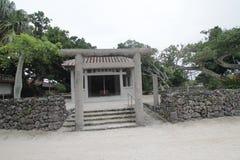 Ishigaki street view in Japan Royalty Free Stock Image
