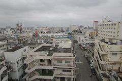 Ishigaki street view in Japan Stock Photo