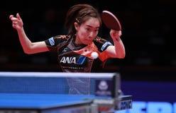 ISHIKAWA Kasumi da rotação da parte superior de Japão fotos de stock