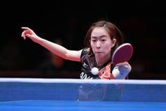 ISHIKAWA Kasumi dos revés de Japão imagem de stock