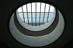 Ishikawa Nishida Kitaro Museum of Philosophy. Roof of Ishikawa Nishida Kitaro Museum of Philosophy designed by Japanese architect Tadao Ando Stock Photos