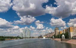 Ishim river 3 Stock Images
