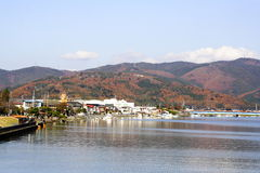 Ishinomaki City in Japan Stock Image