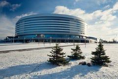 Ishockeystadion Royaltyfri Bild