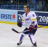 Ishockeyvärldsmästerskap 2017 Div 1 i Kyiv, Ukraina Arkivbild