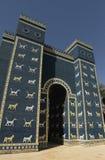 Ishtar brama w Babylon, Irak obraz stock