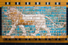 Ishtar Gate Mosaic Stock Photography