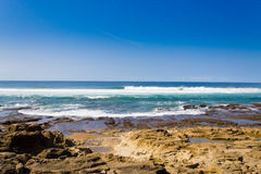 Isimangaliso bagna parka plaża, Południowa Afryka Zdjęcia Stock