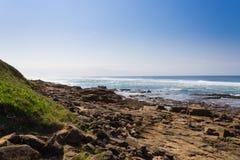 Isimangaliso-Sumpfgebiet-Parkstrand, Südafrika lizenzfreie stockbilder